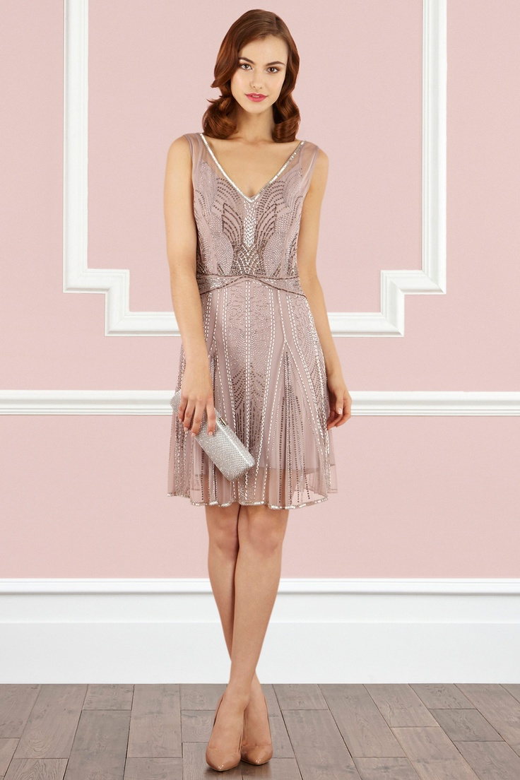 20s bridesmaid dress!