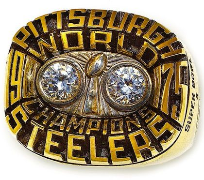 super bowl rings | pittsburgh steelers 1976 Super Bowl X championship ring