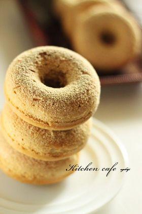 「ヘルシー黒糖焼きドーナツ」uzukaji | お菓子・パンのレシピや作り方【cotta*コッタ】