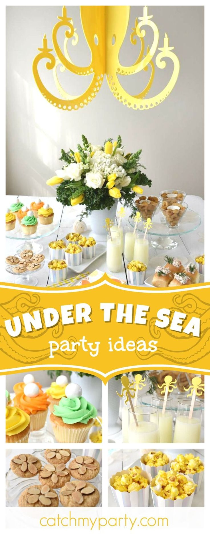 688 best Under the Sea Party Ideas images on Pinterest