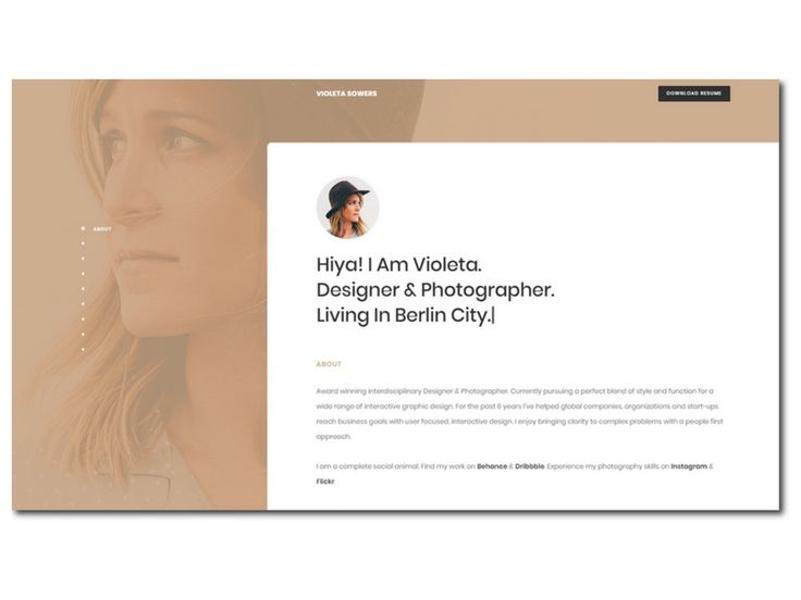 ERIC is a Responsive CV / Resume / V-Card / Personal Website / Portfolio Template made with latest technologies Html5, Bootstrap, Sass   Angular js....