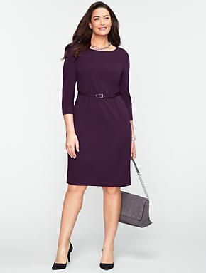 Talbots - Ponte Knit Dress