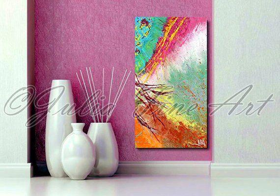 JuliaApostolova - Colourful Abstract Painting - part 2#home #design #homedesign #painting #interior #art #sisustus #taide #taulu #sisustaminen #sisustusidea #interiordesign #inredning