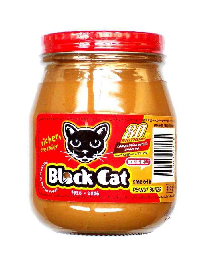 Black Cat Peanut Butter - http://www.saffatrading.co.za/pBLA002/Black-Cat-Peanut-Butter.aspx