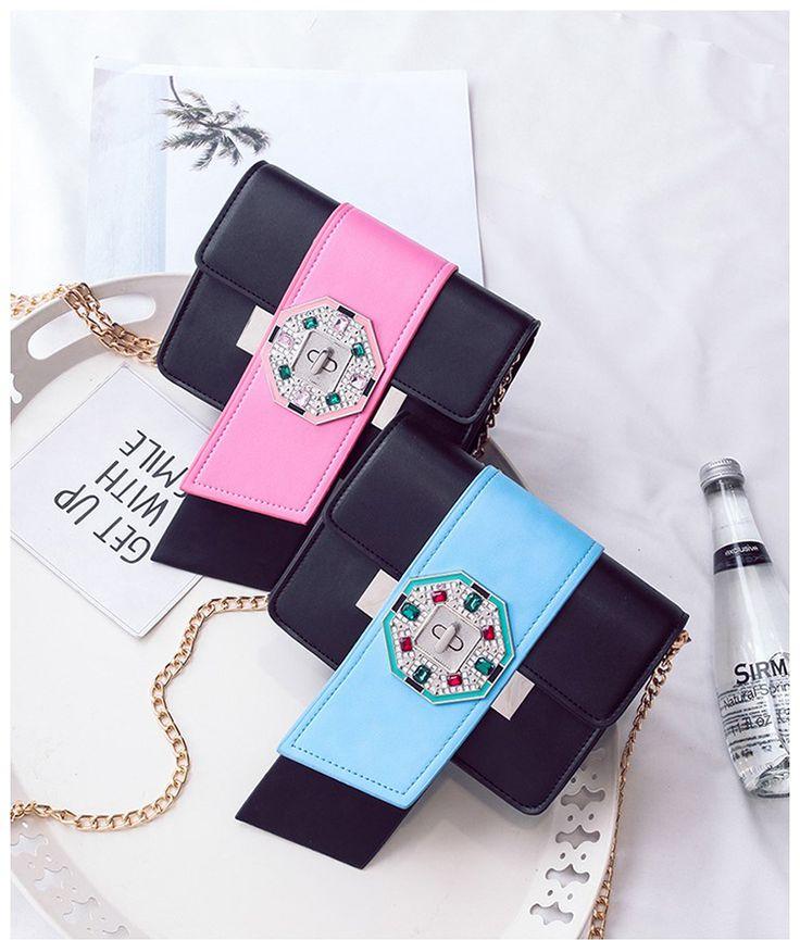 Luxury france PRADA brand women chain bags diamond design locks crossbody bags for women famous designer women handbags sac bolsas. Poniżej zdjęcia oryginału ze sklepu Prady.