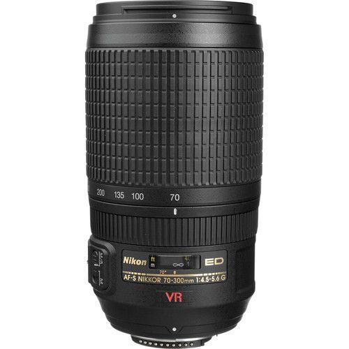 Nikon AF-S VR Zoom-NIKKOR 70-300mm f/4.5-5.6G IF-ED 2161 B