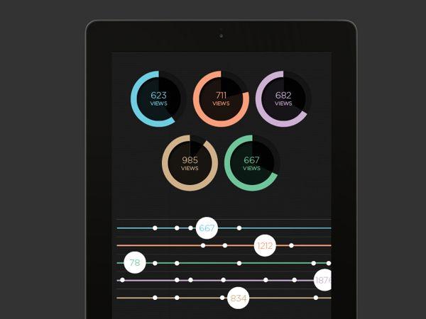 SJQHUB™ Visual Data by Jonathan Quintin, via Behance