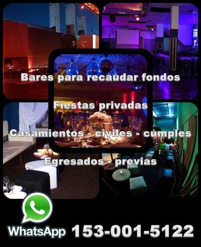 CONTACTO   Bares para eventos en Buenos Aires