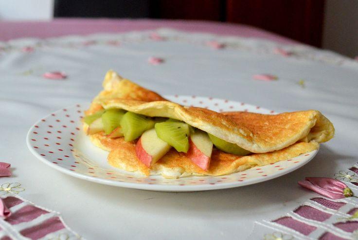 Relish it: Omlet niczym szarlotka