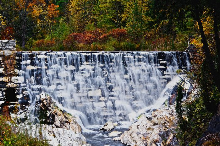 13 fascinating places in Massachusetts  5. White Marble Falls, Clarksburg