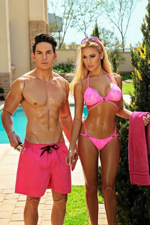 Real life Barbie & Ken dolls!:)