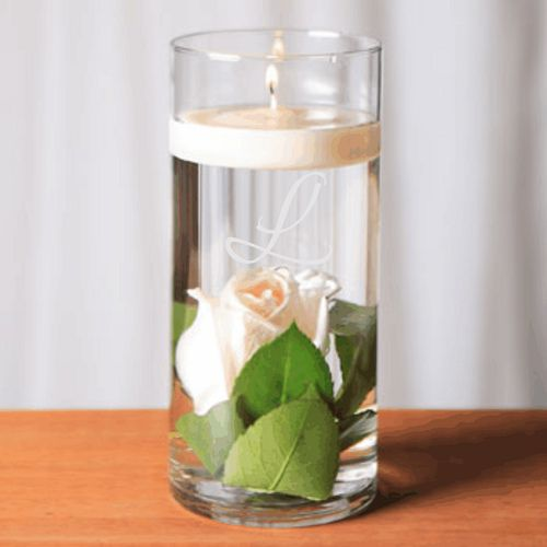 Personalized Engraved Vases Perfect For Wedding Centerpieces Or To Hold Bridal Party Bouquets At Head