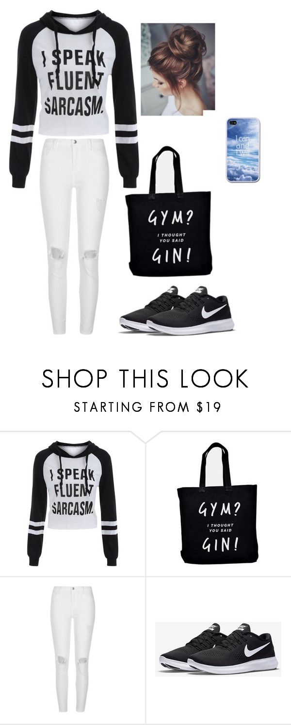 """Untitled #43"" by moriartylauren on Polyvore featuring River Island and NIKE"