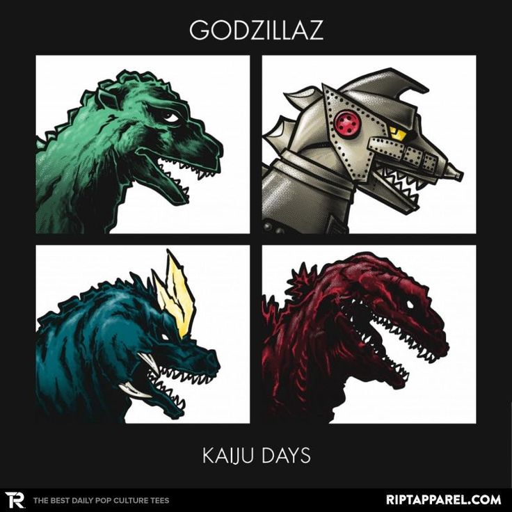 Kaiju size chart