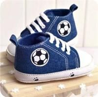 Soccer on Babies Mind Prewalkers Shoes - Baby Boys Shoes