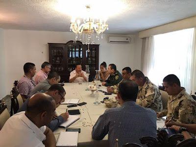 En La Guajira: Autoridades definen estrategias para la Seguridad