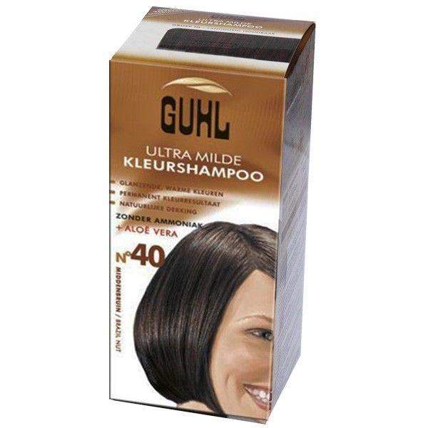 Guhl Ultra Milde Kleurshampoo no 40, Middenbruin 4072600216408