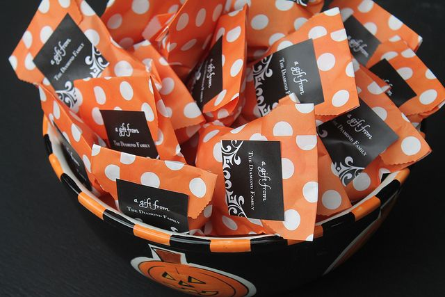 We love these treat idea for Halloween!