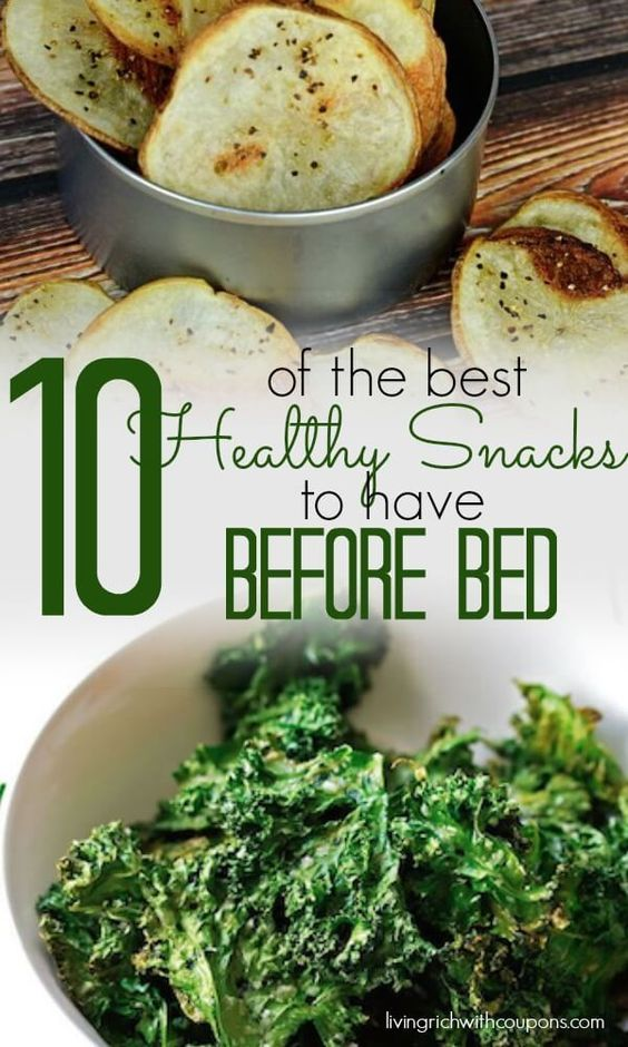 10 of the best Healthy Snacks to eat before bed