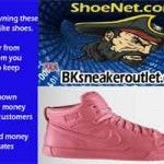 Nike-Red-High-Top - Bulk Discount Shoes