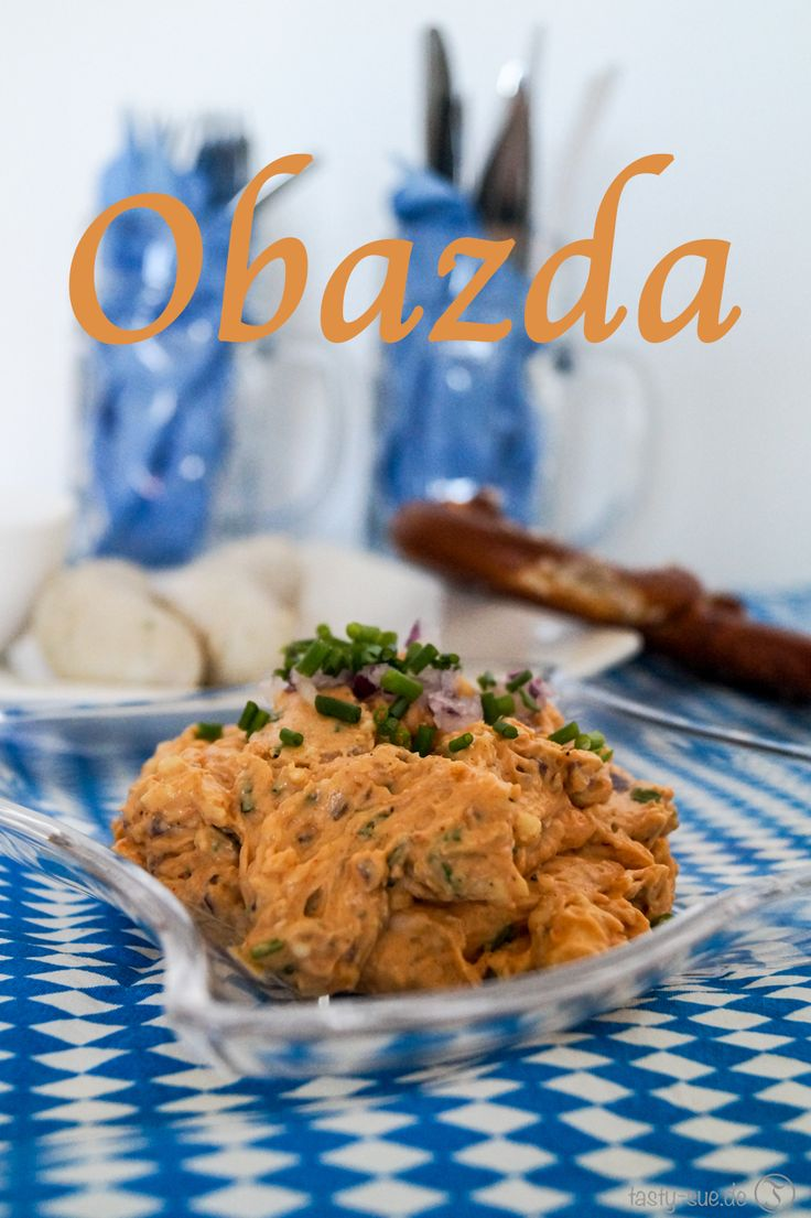 Es heißt wieder Obaz'd is in München. Hier ein leckeres Rezept fürs Oktoberfest Feeling.