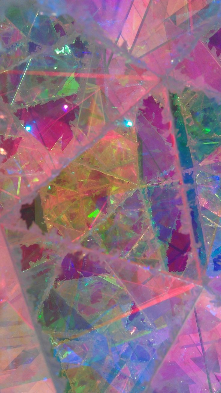 John Foster / On Tumblr - Sculpture I, pink, blue, yellow, translucent, prism, geometric
