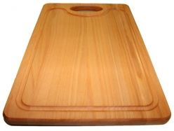 Large Steamed Beech Chopping Board with blood groove