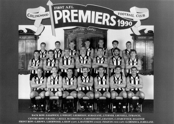 1990 Premiership Team