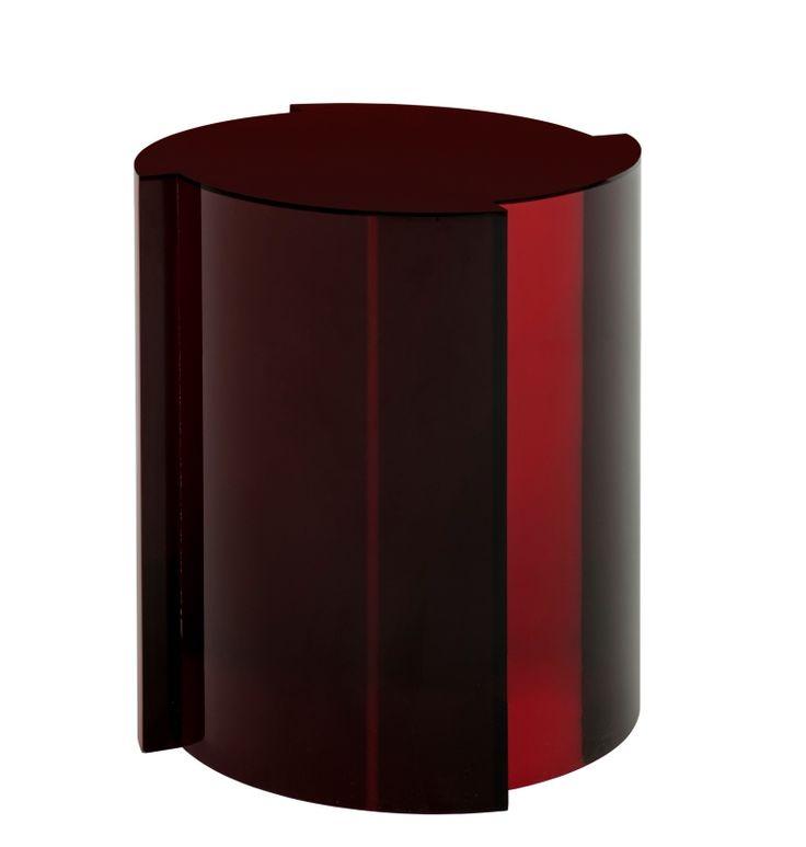apoios, stools, mesa lateral, arquitetura, decor, decoração, móveis, furniture, design, design de interiores, vermelho, vinho, bordeau