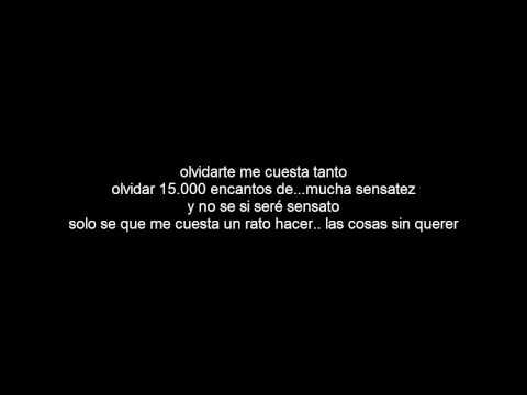 Cali Y El Dandee - Me Cuesta Tanto Olvidarte (Letra) - YouTube