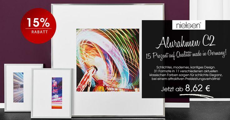 Kühle Eleganz mit C2 von Nielsen #Bilderrahmen #Aktion #Rabatt #nielsen