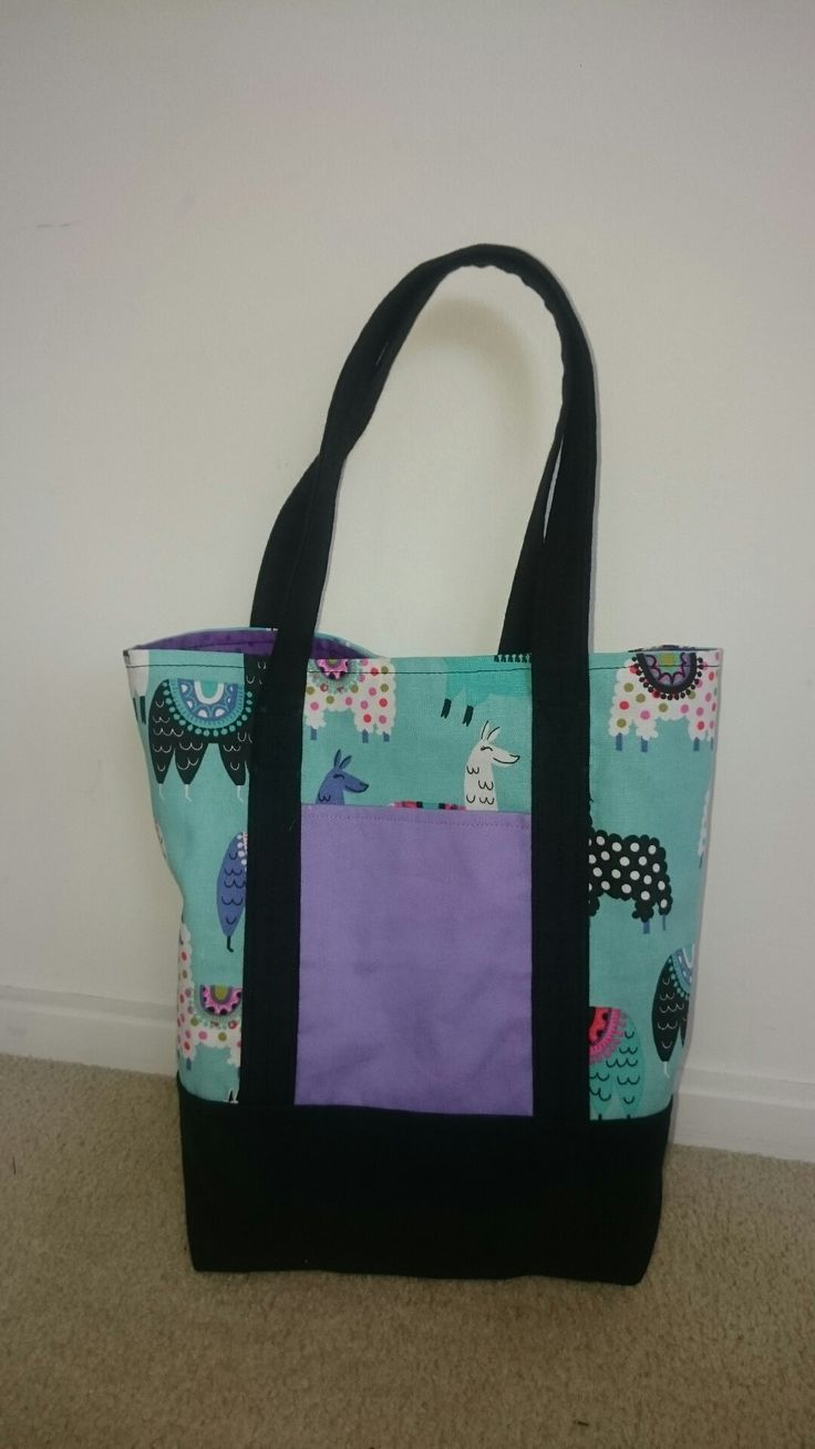 Lined tote bag. For Rachael.