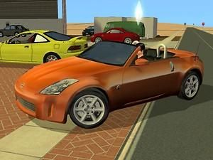 Mod The Sims - 2006 Nissan 350z Roadster
