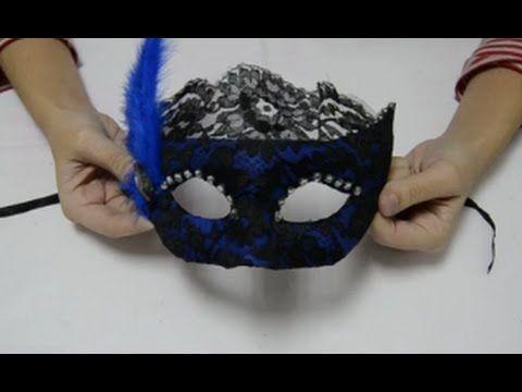 Cómo hacer una máscara veneciana | facilisimo.com - YouTube