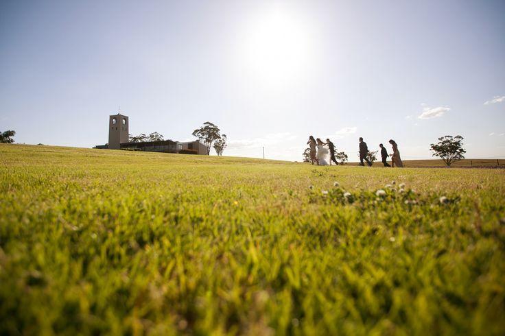 Bridal party on the lawn at Bimbadgen Estate   PHOTO CREDIT: Something Blue Photography @somethingblueau