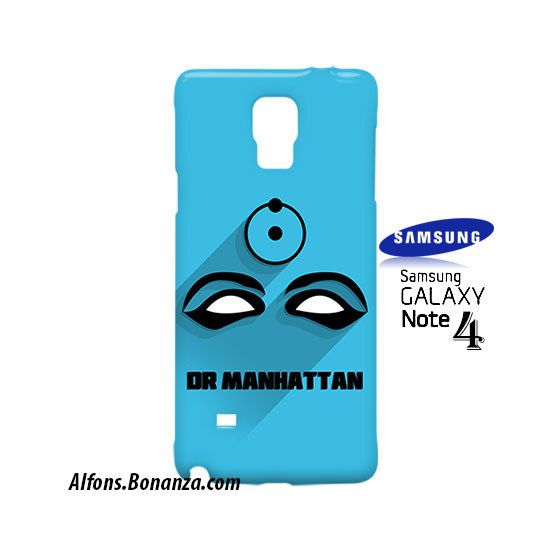Dr Manhattan Superhero Samsung Galaxy Note 4 Case
