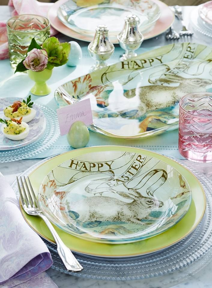 Happy Easter Dinnerware Collection