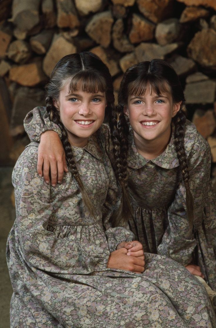 Sidney Greenbush and Lindsay Greenbush From Little House on the Prairie . The second youngest child of the Ingalls