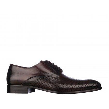 Pantofi Mario Ferretti visinii, din piele naturala