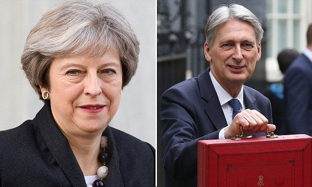 If May can't run her own Cabinet is it any wonder this Country is in the Mess it's in ? Philip Hammond and Theresa May's relationship at 'all time-time low'