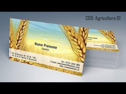 Carti de vizita agricultura ferme fermieri CDVI - alte produse de print digital: mape de prezentare, diplome personalizate, carti de vizita magnetice, etichete autocolante autoadezive, etichete rotunde, brosuri, cataloage, reviste, afise publicitare, plicuri personalizate.