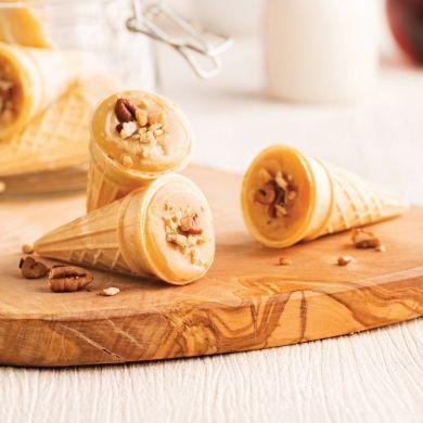 Mini-cornets à l'érable - Recettes - Cuisine et nutrition - Pratico Pratique