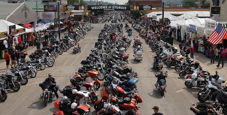 The 2014 Sturgis Biker Rally in Sturgis South Dakota,Just outside Rapid City South Dakota.