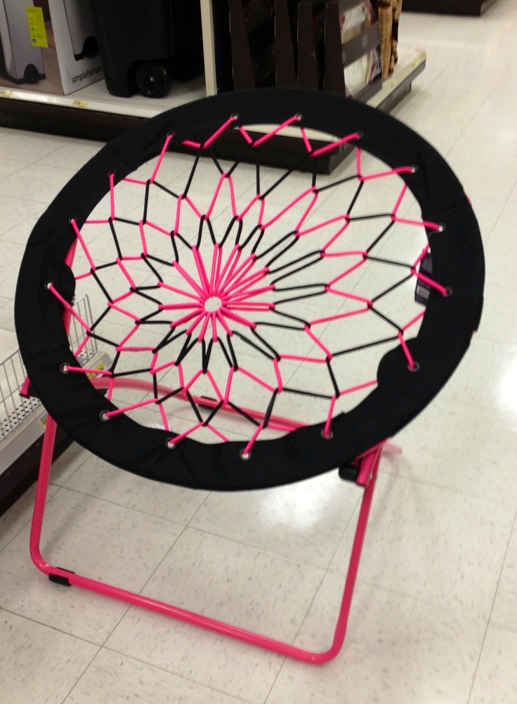 Bungee chair. So fun! I want one from Target