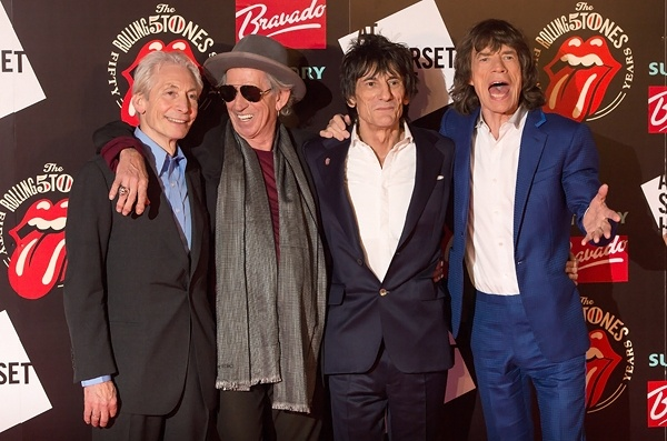 Rolling Stones Gather in London for 50th Anniversary Exhibit | Music News | Rolling Stone