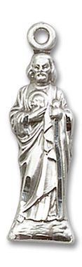 Sterling Silver St. Jude Medal 5934SS