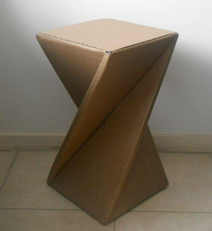 ▷ 1001 + ideen für Pappmöbel zum Selbermachen – günstig und kreativ
