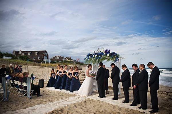 Formal Beach Wedding