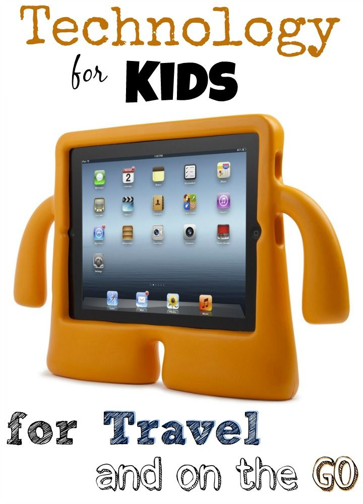 Technology for Kids on the Go - perfect ideas for your family vacations | StuffedSuitcase.com travel