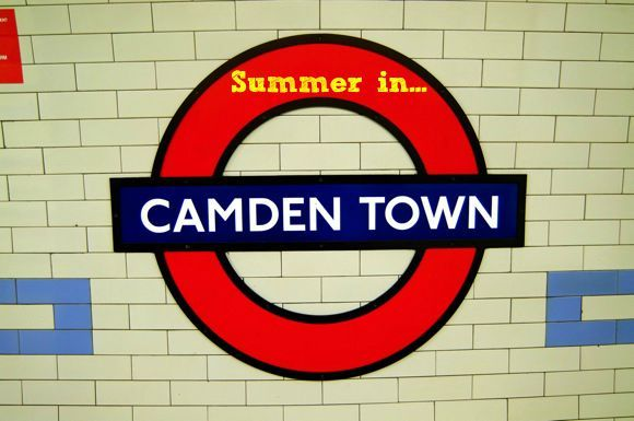 Two great things to do in Camden this summer, the Roundhouse rooftop has been converted into a beach and Proud's Secret Garden rooftop bar.